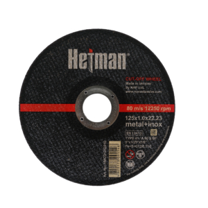 Tarcza do cięcia metalu HETMAN 125x1,0
