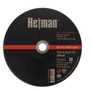 Tarcza do cięcia metalu HETMAN 230x2,0