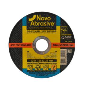 Tarcza do cięcia metalu Novo Abrasive 125x1,0 22,2