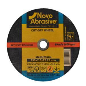 Tarcza do cięcia metalu Novo Abrasive 230x2,0 22,2 mm