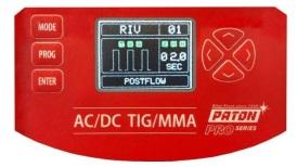 Ustawieni funkcji RIV w spawarce PATON ADI 200 PRO